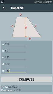 App Area and Volume calculator-2D & 3D shapes APK for Windows Phone