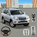 Real Prado Car Parking Games 3D: Driving Fun Games icon