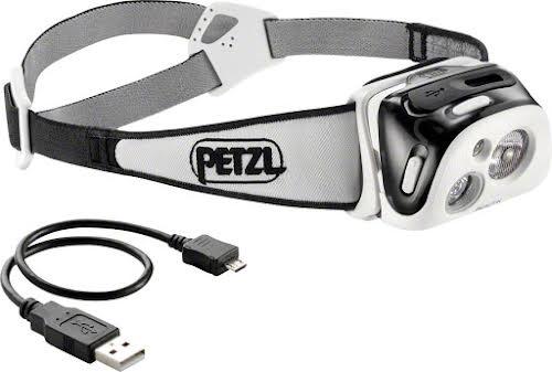 Petzl REACTIK Reactive Headlamp, 220 Lumens: Black