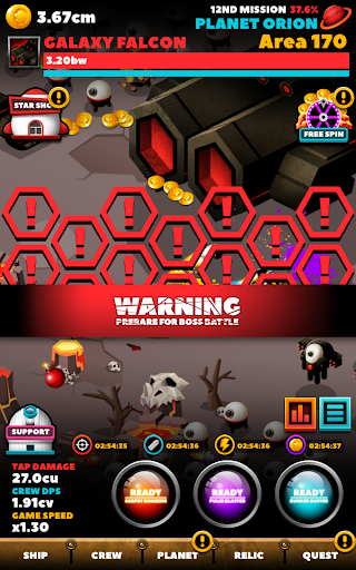 SPACE WAR : IDLE CLICKER 1.0.23 screenshots 24