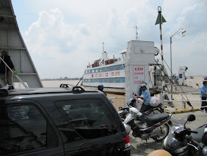 Photo: Year 2 Day 32 - On Our Ferry to Long Xuyen