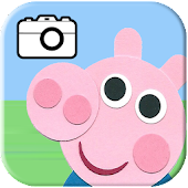 Pig Photo Editor Peppa & Pig Sticker