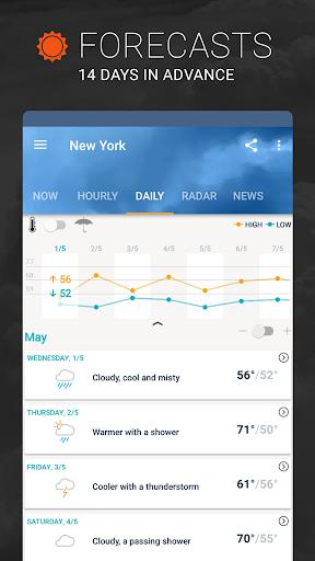 PC u7528 AccuWeather: Weather Tracker & Live Forecast Maps 2