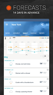 AccuWeather: Weather Tracker & Live Forecast Maps Screenshot