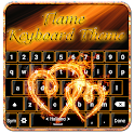 Clavier De La Flamme Thème icon
