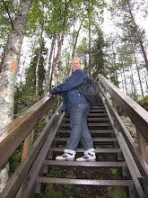 Photo: Gelukkig was er ook een trap om boven te geraken. :-)