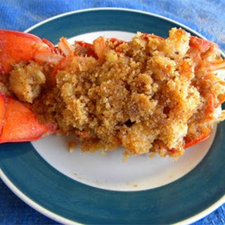 Easy Baked Stuffed Lobster Tails.