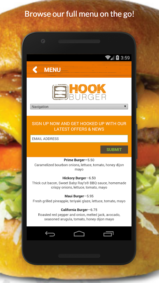 Hook Burger- screenshot