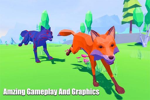 Fox Simulator Fantasy Jungle: Animal Family Games screenshots 1