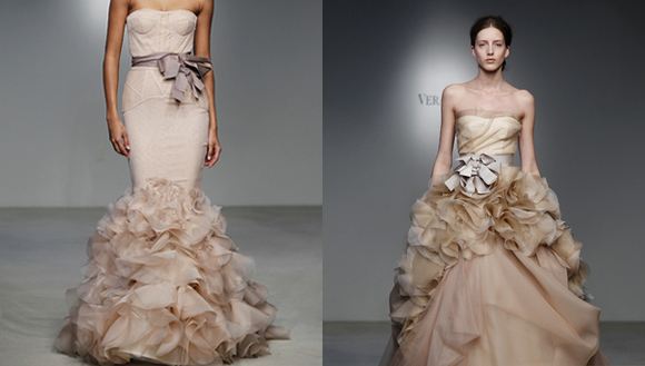 Vestidos de Novia Champagne, parte 1