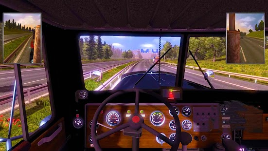 3D Euro Truck Driving Simulator Extreme Screenshot