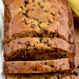 The Best Chocolate Chip Banana Bread.