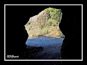 Photo: Dans la grotte