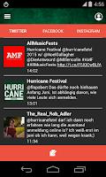 Screenshot of Hurricane Festival