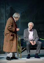 Photo: WIEN/ Kammerspiele der Josefstadt: SCHON WIEDER SONNTAG - zum 85 Geburtstag von Otto Schenk. Inszenierung: Helmut Lohner. Otto Schenk, Harald Serafin. Copyright: Barbara Zeininger