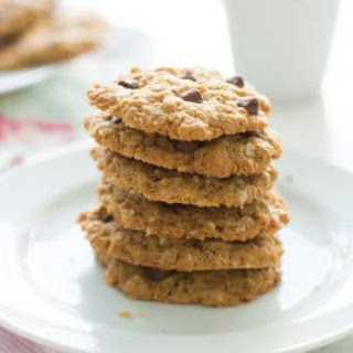 Healthy Peanut Butter Oatmeal Cookies.