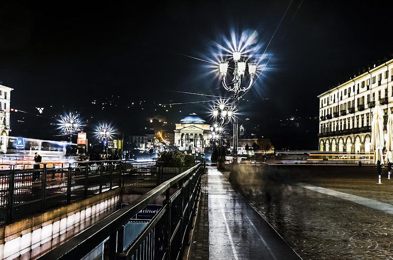 Torino in notturna di Daniela Denaro