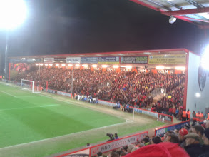 Photo: 14/01/14 v Burton Albion (FAC3R) 4-1 - photo showing new stand contributed by Tony Incenzo (on Twitter @tonyincenzo)