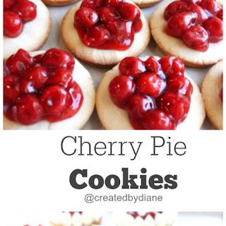 Cherry Pie Cookies