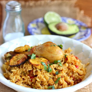 Arroz Atollado de Pollo y Chorizo (Creamy Rice with Chicken and Chorizo)