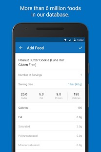 Calorie Counter - MyFitnessPal Screenshot