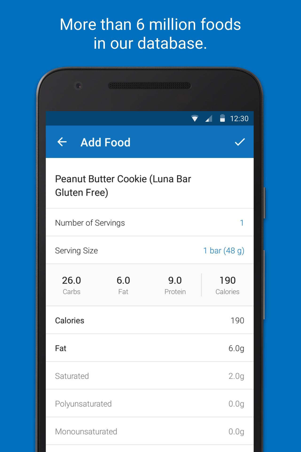 Calorie Counter - MyFitnessPal screenshot #2