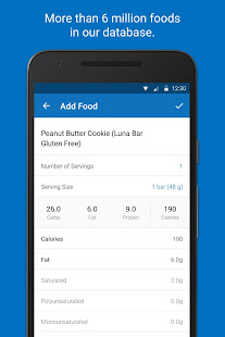 Screenshots of Calorie Counter - MyFitnessPal for iPhone
