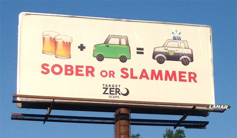 Image result for drink driving billboards