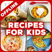 Easy Recipes For Kids (Offline Recipes Book Apps)