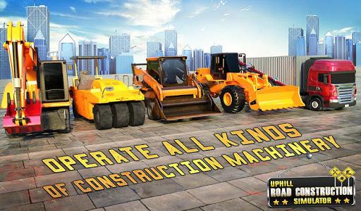 Hill Road Construction Games: Dumper Truck Driving apkpoly screenshots 13