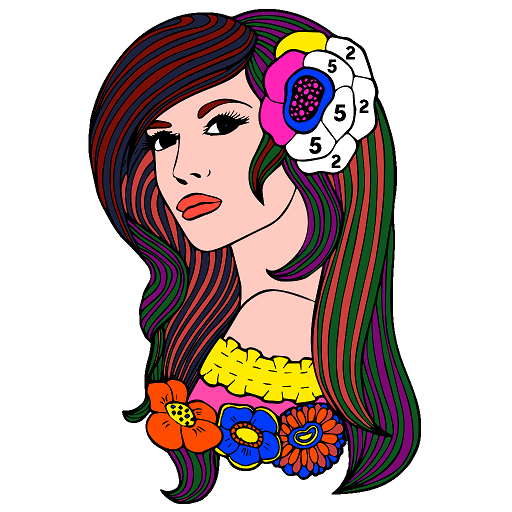 Paint by Numbers - Color by Number, Adult Coloring Icon