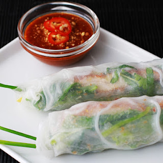 Andrew Zimmern Cooks Fried Chicken Summer Rolls.