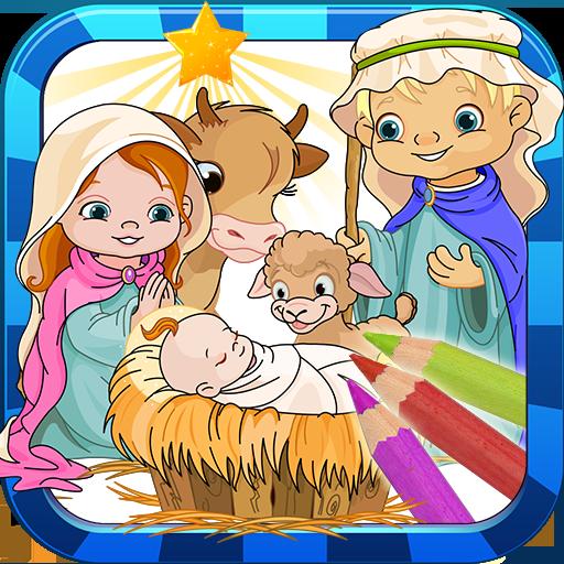 子供たちは聖書塗り絵を塗ります 娛樂 App LOGO-APP試玩
