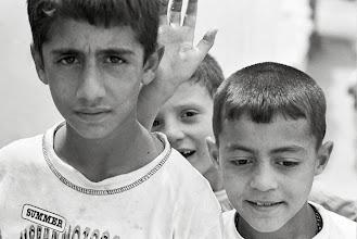 Photo: Boys from Farqîn, 2007
