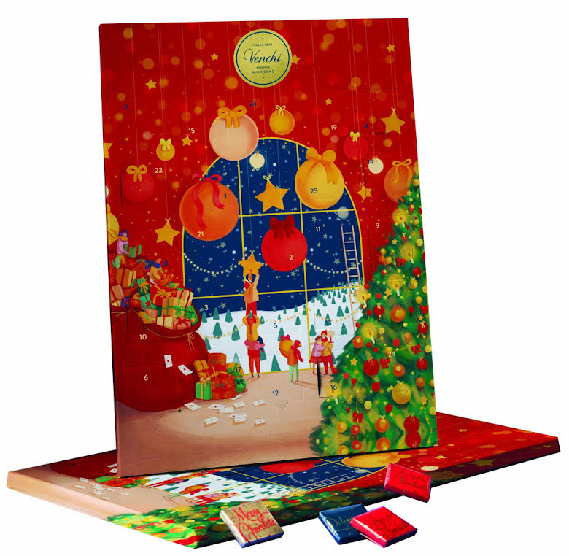 Glutenfri chokladkalender/adventskalender 2021 – Venchi