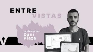 Dani Plaza cuenta en una EntreVista de IG de LA VOZ como gestiona su cuenta de Twitter sobre la COVID-19.