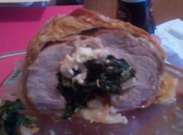Pork Tenderloin Stuffed Wellington Recipe