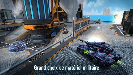 Robots VS Tanks: Batailles multijoueur tactiques APK MOD – Pièces Illimitées (Astuce) screenshots hack proof 2