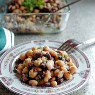 Italian Bean Salad.