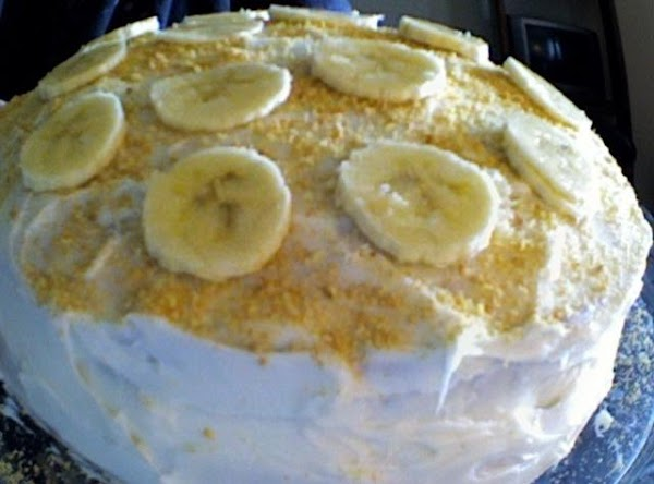 Banana Creme Cake Recipe