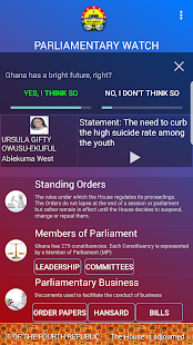 Parliamentary Watch- screenshot thumbnail