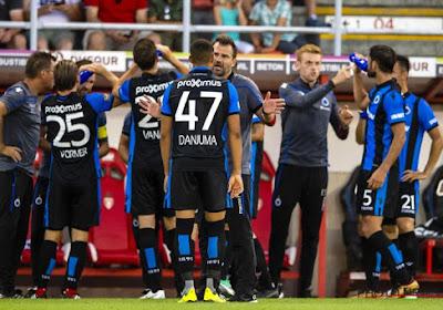 Un pion majeur du Club de Bruges sur le retour