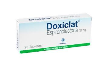DOXICLAT 100mg Tabletas   Caja x20Tab. PHARMADERM Espironolactona