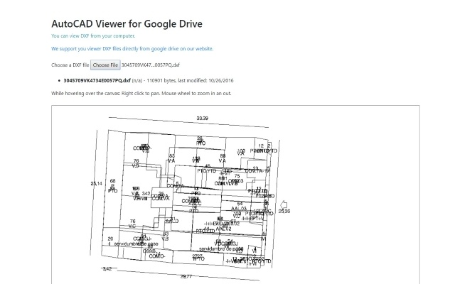 AutoCAD Viewer for Google Drive™