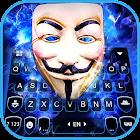 Lightning Anonymous Keyboard Background