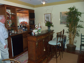 Photo: Tour of Homes 2012: Byrd House - downstairs bar/kitchen