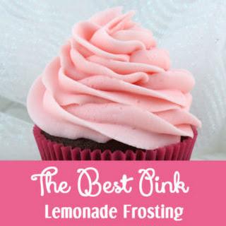 The Best Pink Lemonade Frosting.
