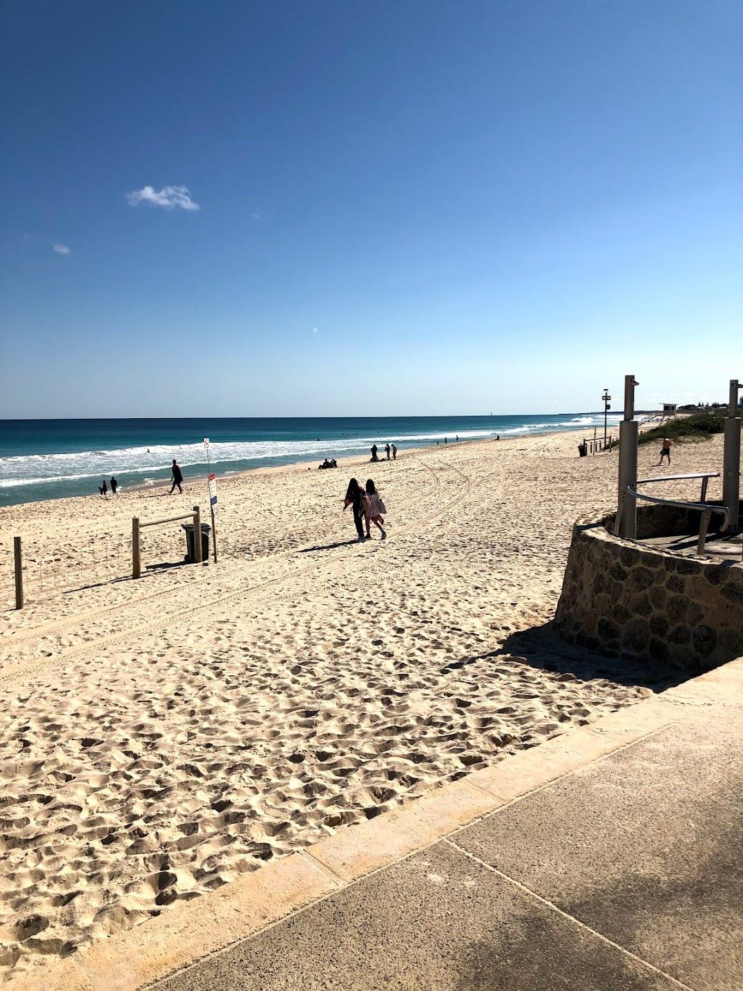 スカボロービーチ・砂浜