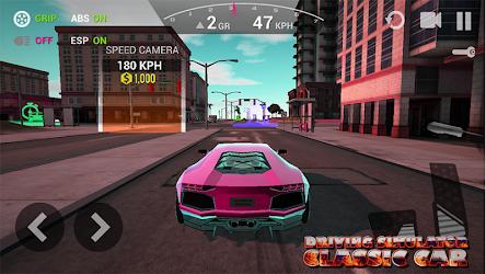 Basic Driving Simulator - Classic Car