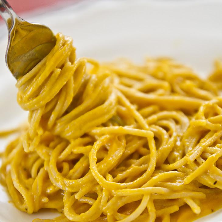 Gluten-free Pasta With Creamy Sweet Potato Sauce